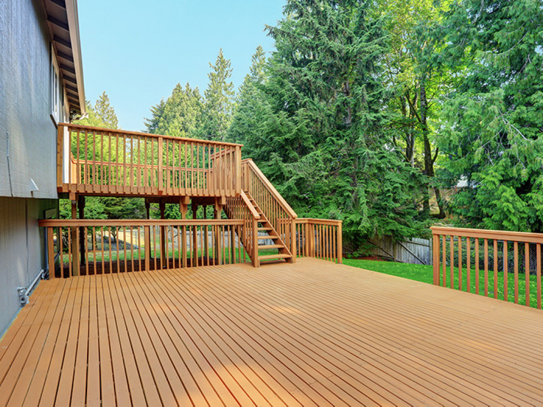 Repair your existing outdoor space