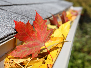 Gutters that need gutter cleaning services in Waltham, MA